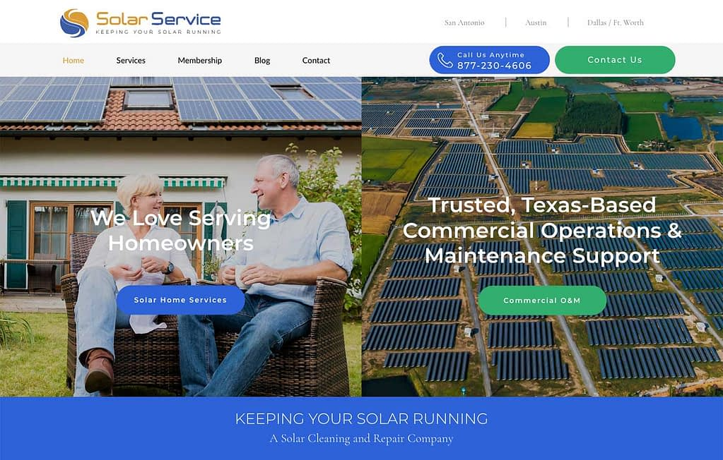 Welcome to Solar Service